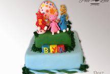 Dečije torte Baby TV / Čarli i drugari na torti www.pocoloco.rs