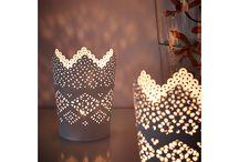 Lumière et bougies