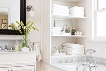 bathroom ideas / by Levi Devorah Marrus