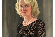 Loryn Brazier Portraits / Portraits painted by Loryn Brazier