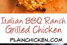 Chicken Recipes / Easy chicken recipes made in the crockpot or oven the whole family will enjoy!