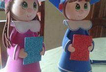 куколки из фома
