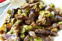 Beef Recipes / by Tanya Schroeder @lemonsforlulu.com