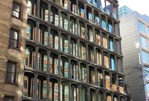 New York Buildings / Albertini windows in New York, USA