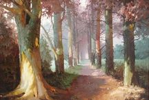 Traditional Landscape Paintings