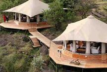Tented lodges