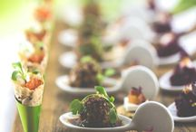 Wedding Catering Here at Worton Hall / We work closely with Greens Catering who will in turn work closely with you to design menus that suit your tastes and budget.  To find out more or visit www.greenscatering.co.uk  And of course some our Pinterest inspo ...