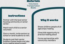 Literacy Activities: Community Wide / Infographics. Free or inexpensive community-wide literacy activities.