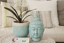 Decor Ideas With Buddha Statues / Buddha sculptures in home decor.