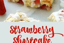 strawberry shortcake scone