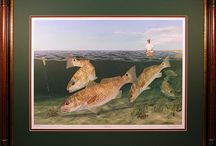 Redfish Wall Art / If redfish are your thing, you've come to the right board! Check out our pins!