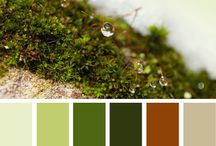 Fall Inspiration / May be creating many items for a charity fundraiser in the fall - collecting color schemes and ideas here.