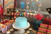 Circus birthday party decor ideas
