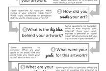 Art Organization & Mgt / Ideas for the art room