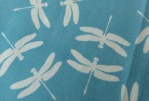 Dragonfly Fabric / Fabrics available at http://www.spoonflower.com/profiles/kipandfig / by Kip & Fig