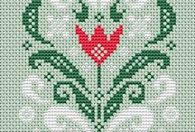 Cross stitch - various