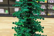 A LEGO bomen