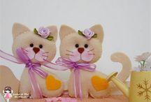 Gatti / Gatti di stoffa