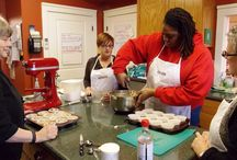 Cooking Classes in Hot Springs :: Lookout Point Cooking School / The Lookout Point Cooking School is dedicated to hands-on teaching, from basics to gourmet dishes. Each of our cooking classes in Hot Springs is 4 hours long and takes place in the Inn's kitchen.