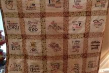 Prayer Quilt Ideas / Prayer Quilt Inspiration