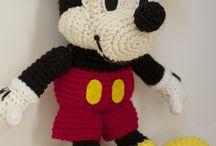 Mickey minnie çrochet