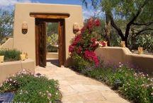 adobe courtyard / by John Izzo