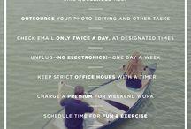 work tips / by Sarah Vaughn