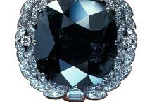 Diamond, Black / Rings and Jewelry