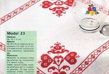 ponto cruz toalhas e caminhos de mesa