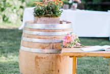 Rustic Barn Receptions / Wedding ideas for rustic and mountain weddings