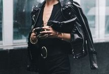 Leather jackets for edgy women over 30