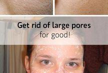 Asprin for large pores