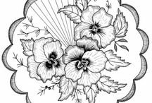 тарфареты, цветы