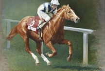 Race Horses In Art 03- Notable European Raced Fillies / From 1900 to present