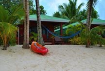 Bella Beach / Bella Beach provides your own beach suitable for swimming, snorkelling and reef walking or sunbathe on it's white sand, better still, relax in your very own hammock.