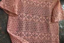 розовая блуза филейка