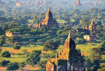 Myanmar: a wonderful mystical country with lovely people. / My favorite country, feels like going into another world even into another dimension. HIGHLY RECOMMENDED.