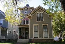 Kansas Architecture - Italianate / Featuring Italianate style architecture in Kansas