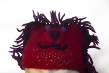 knitted hats / crocheted hats / a selection of unique and handmade woolen hats for babies, kids and adults.