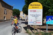 "Cinglé du Mont Ventoux / Originally planned for my 50th birthday, I got a belated shot at the ""Cinglé du Mont Ventoux"". On June 20, 2014 I cycled up the ""Giant of the Provence"" three times."