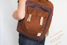 Baccy packs / Sustainable backpacks for grownups and kids. Pass on from generation to generation