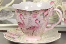 Tea cups & saucers / by Colleen