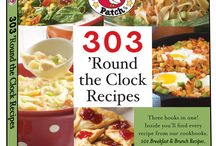 303 'Round the Clock Recipes | Gooseberry Patch Cookbook / Recipes from our cookbook, 303 'Round the Clock Recipes, that have been featured by some of our favorite bloggers! The names of the dishes are in the descriptions...click through for complete recipes.