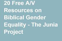 Resources for Biblical Gender Equality
