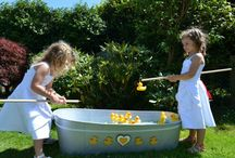 Hook a Duck / One of the best traditional fairground stall games to entertain all children and adults. The galvanized tin bath can be decorated to your taste. You can either decorate it yourself or ask us to help you at an additional cost. For more information and prop hire, visit www,loveartdesigns.co.uk