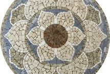 Mandalas em mosaico