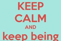 Keep calm and...?