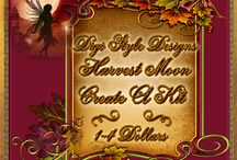 DSD Harvest Moon Create A Kit  / Harvest Moon Create A Kit Autumn themed at the start of fall  kits $1-$4.00
