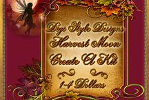 DSD Harvest Moon Create A Kit  / Harvest Moon Create A Kit Autumn themed at the start of fall  kits $1-$4.00