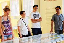 MUSEO ABC. CENTRO DE ARTE. / Visita de los alumnos de Paraninfo al Museo ABC, centro de arte. Julio de 2014.